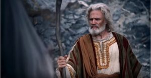 Moses confronts Satan