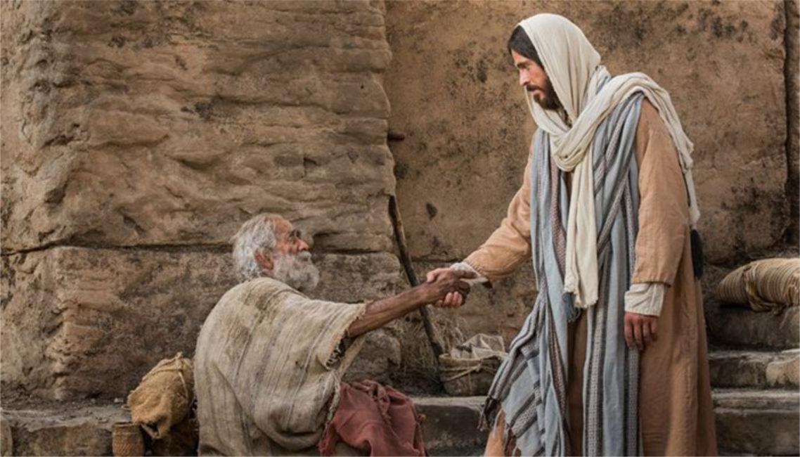 Jesus heals charity overcomes shame