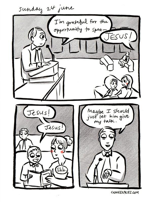 heard at church comic 14
