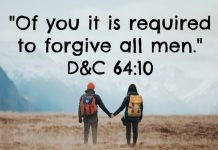 Of you it is required to forgive all men.