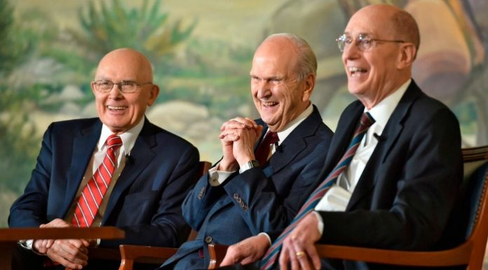Mormon church leaders general conference
