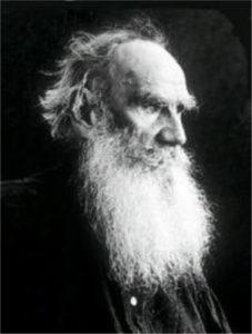famous writers and Mormons Leo Tolstoy