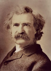 Famous Writers and Mormons Mark Twain