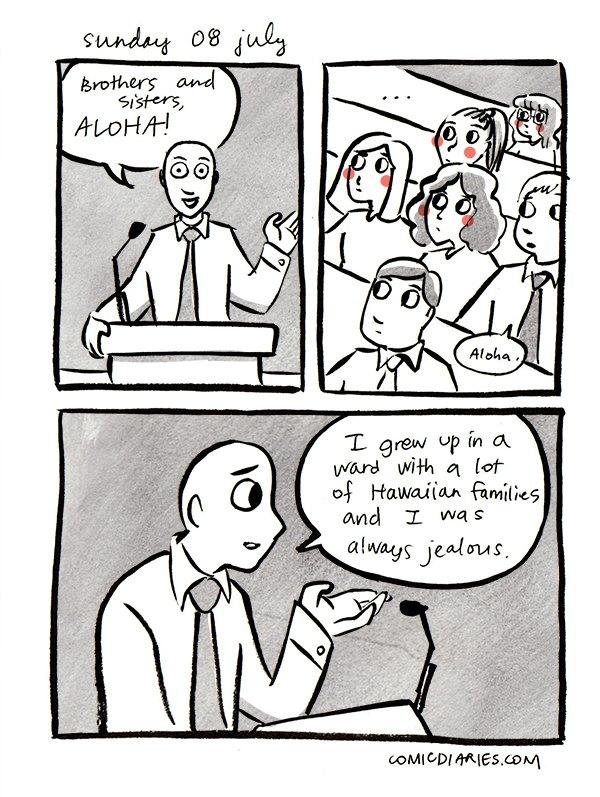 mormon heard at church comic