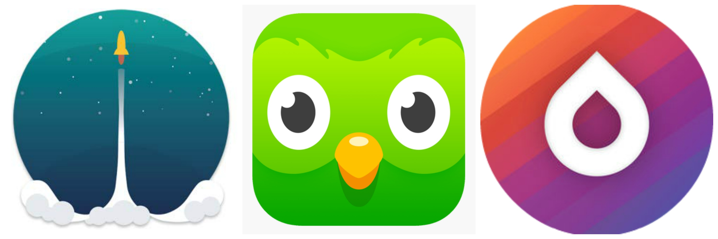Apps to learn your mission language duolingo memrise drops