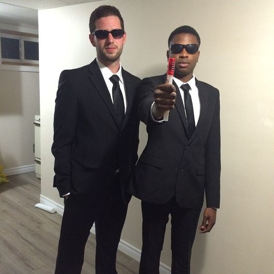 Men in Black Halloween Costume