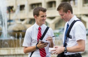 LDS male missionaries