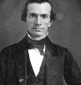 Portrait of Oliver Cowdery.