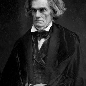 Portrait of John C. Calhoun.