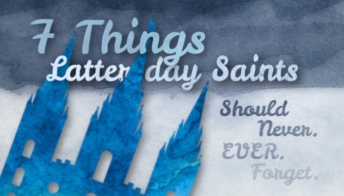 Article title on watercolor background with Mormon temple image.