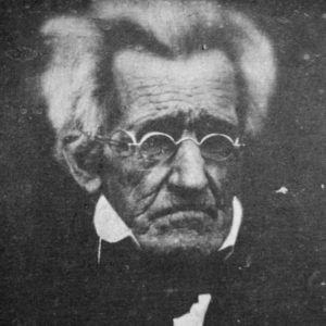 Photograph of Andrew Jackson.
