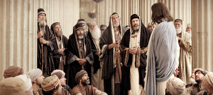 Jesus Christ and the Pharisees