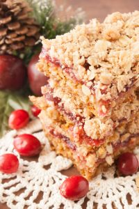 cranberry bars christmas