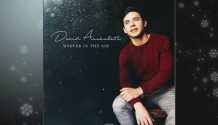 David Archuleta's new Christmas album artwork.