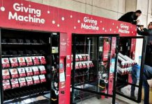 LightTheWorld Giving Machines Mormon LDS Service Christmas