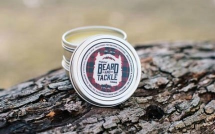 Beard & Tackle jar of cream