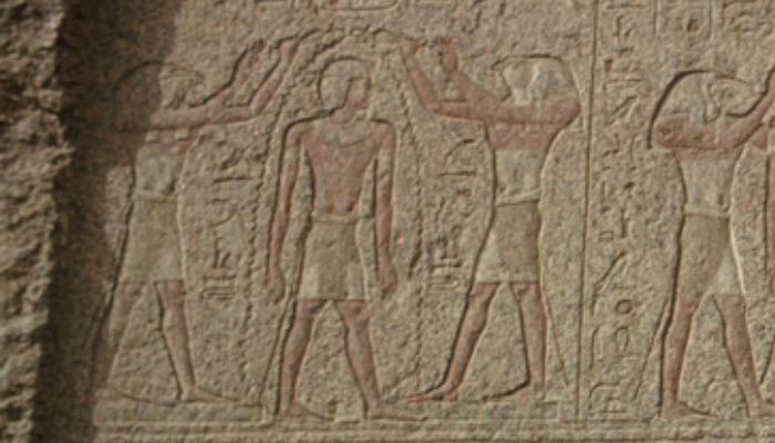 Mormon Ancient Egypt Temples anointing with oil