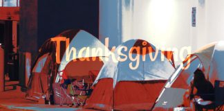 Black Friday Thanksgiving Mormon campers
