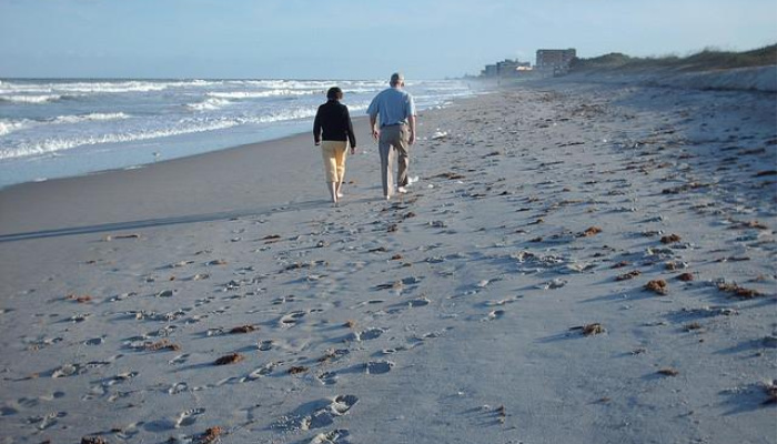 Mormon why me what now adversity old couple walking on the beach