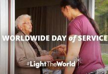 light the world mormon LDS