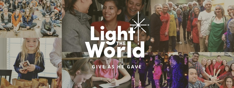Light the World initiative Mormon LDS Christmas