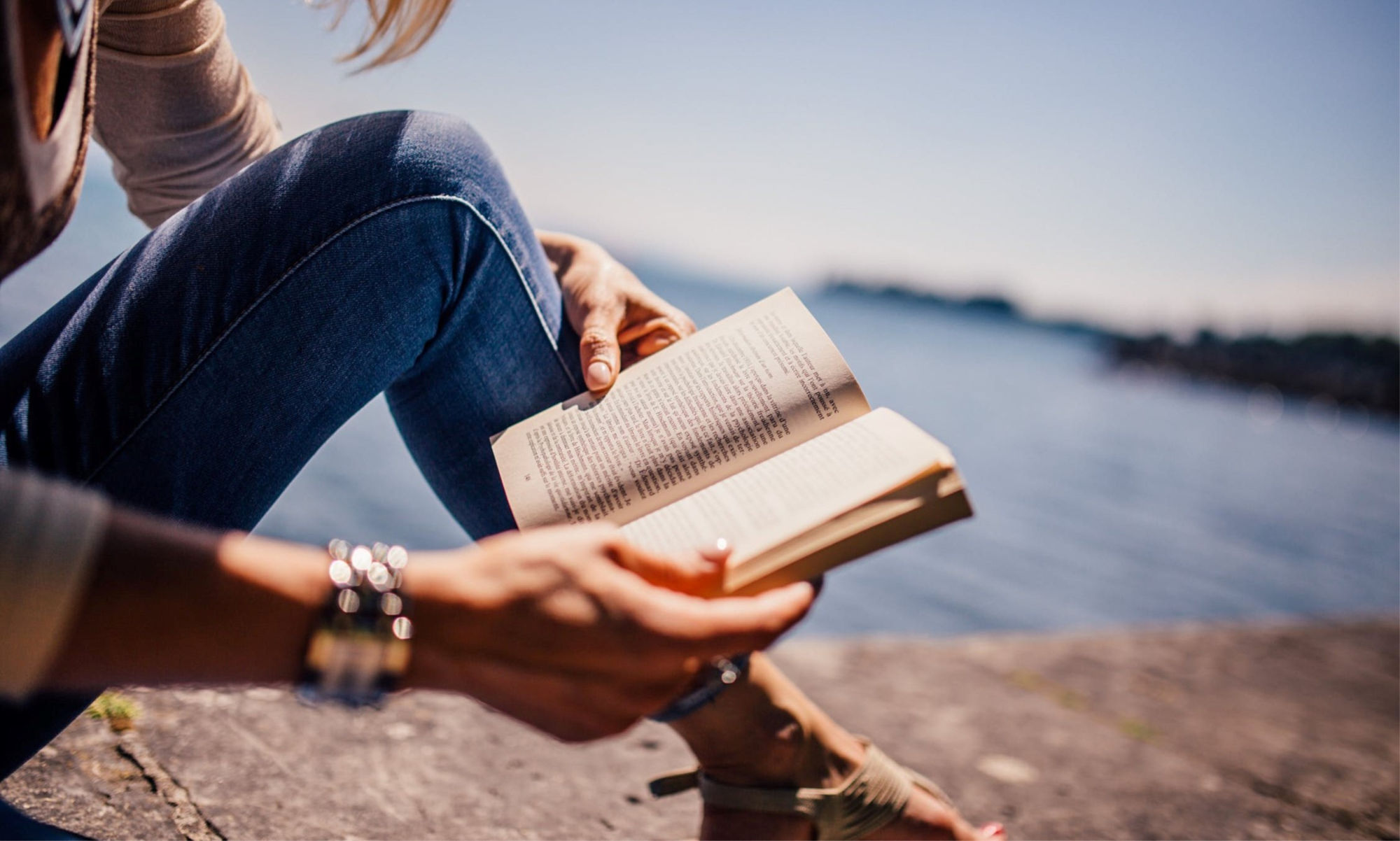 Woman Reading Book Swearing In Literature