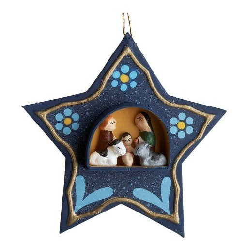 Ten Thousand Villages nativity ornament
