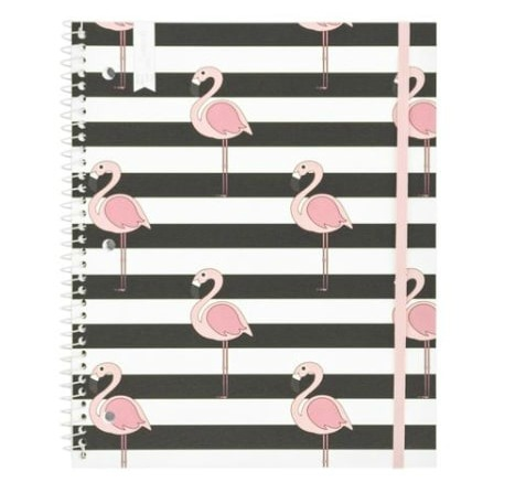 Yoobi flamingo notebook
