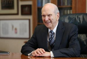 Presidente Russell M Nelson, actual profeta lds