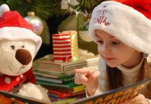 Reading Christmas Stories LDS Mormon