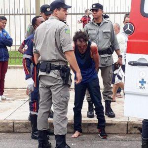 police and suspect in Mormon Church stabbing in Brazil