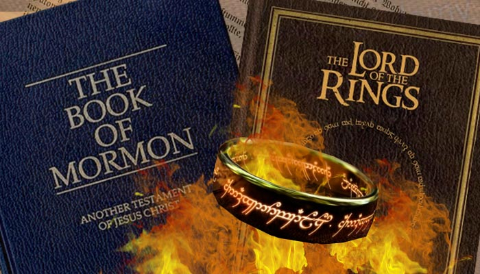 book of mormon lord of the rings