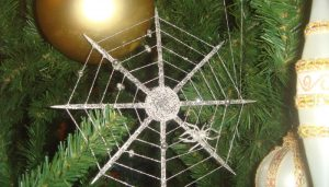 ukrainian spider ornament