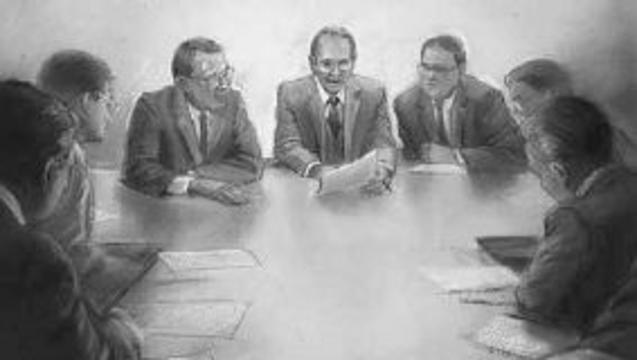 drawing lds church disciplinary council