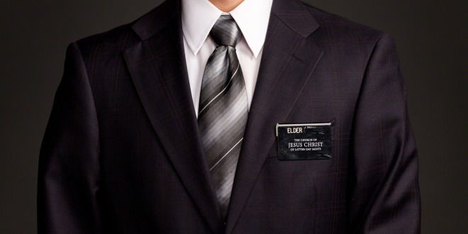 lds missionary in suit