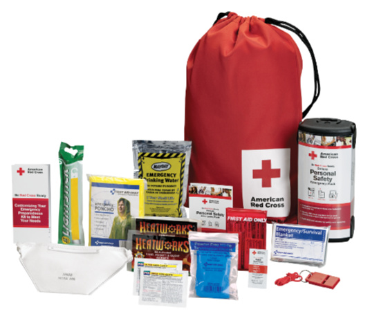 red cross emergency kit