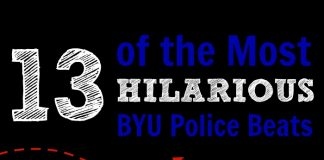 13 of the Most Hilarious BYU Police Beats Mormon