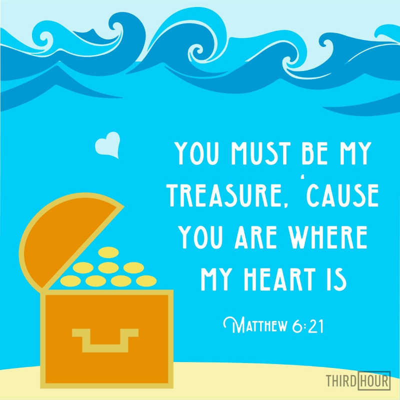 where my treasure is valentine lds