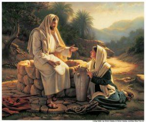 Jesús enseña samaritan mujer lds