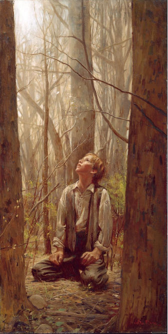 Joseph Smith first vision art lds