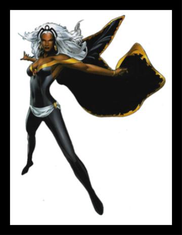 X-Men Storm Mormon