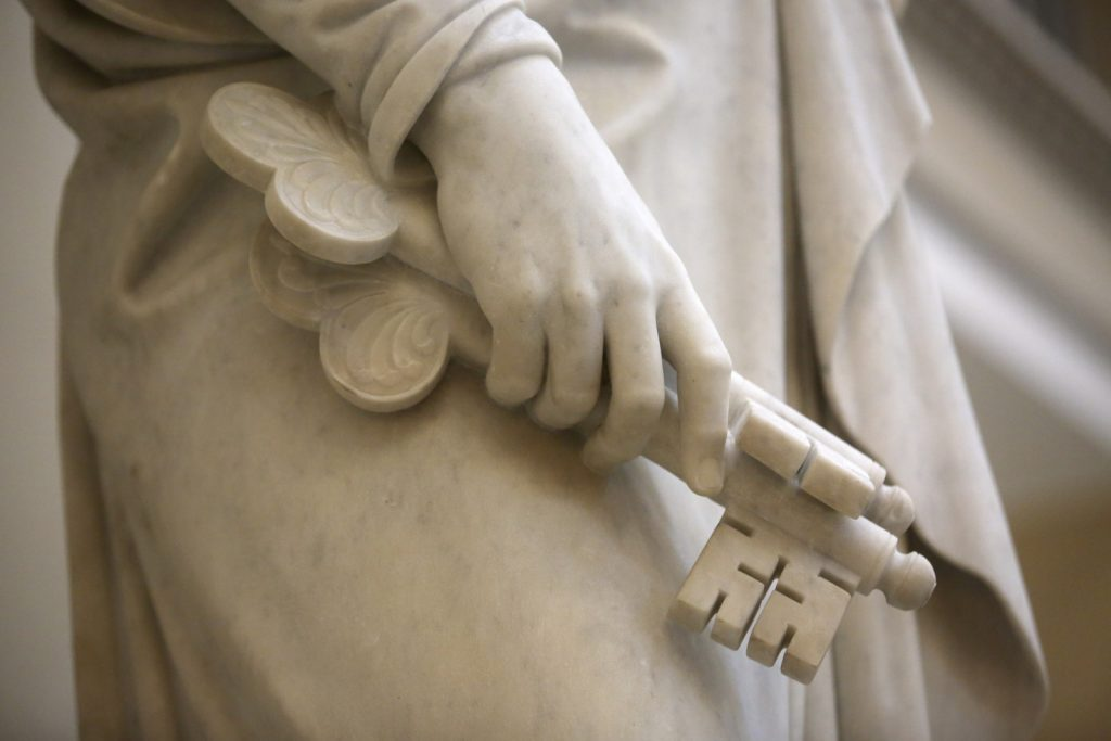 hand of Peter Thorvaldsen sculpture