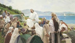 Christ teaching the people lds