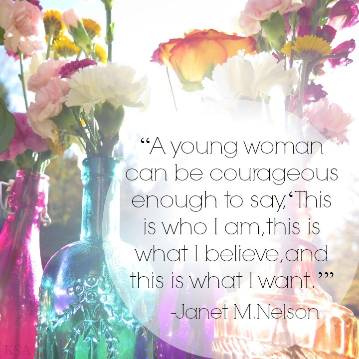 courageous women mormon quote
