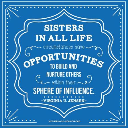 nurture others mormon quote