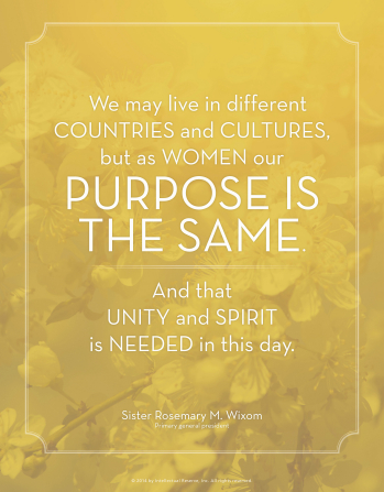 our purpose as women mormon quote