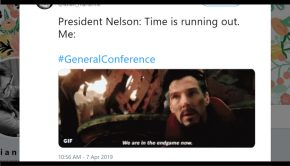 General Conference tweet