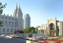 future north gate SLC temple
