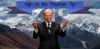 Mormon President Nelson on Mount Everest