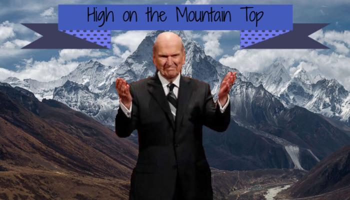 Mormon President Nelson on Mount Everest